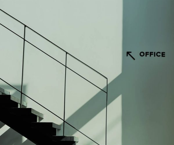 Stairs in a office